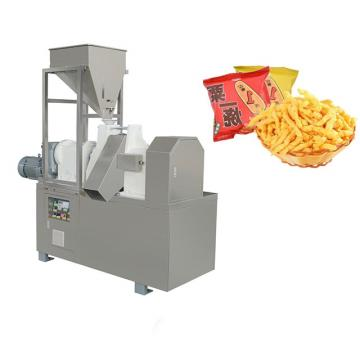 Baked Fried Cheetos Production Line Making Machine Automatic Fried Kurkure Cheetos Nik Nak Snack Food Making Extruder Machine Kurkure Plant Machine