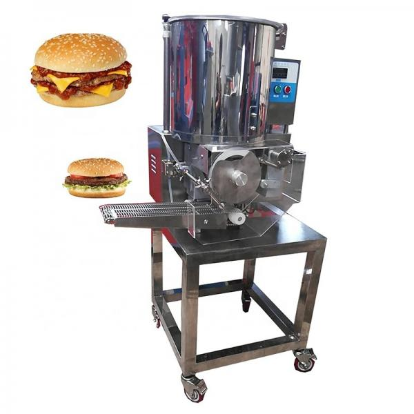 2100PCS/Hour Automatic Beef Shrimp Meat Hamburger Burger Patty Making Machine/Burger Patty Forming Machine Price